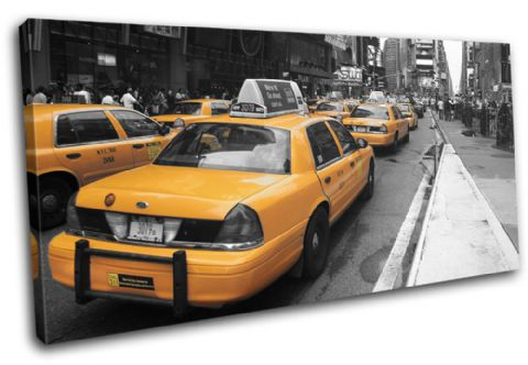 New York NYC Taxi Cab City - 13-1702(00B)-SG21-LO